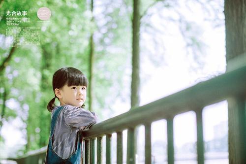 听见小幸运 清新柔美日系儿童摄影作品