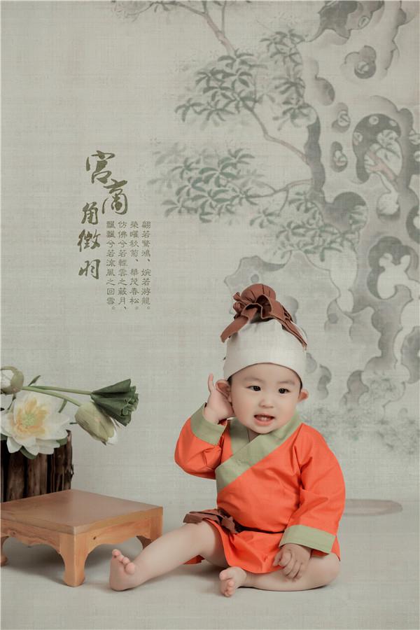 修图师赖毅 中国风儿童工笔画摄影作品_设计欣赏_影楼