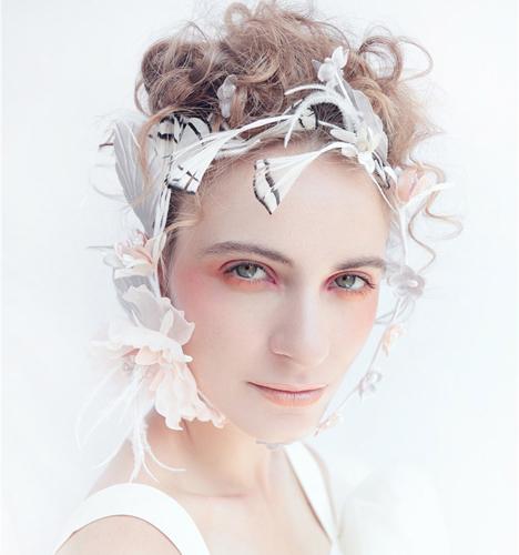 创意新娘妆容 化妆造型