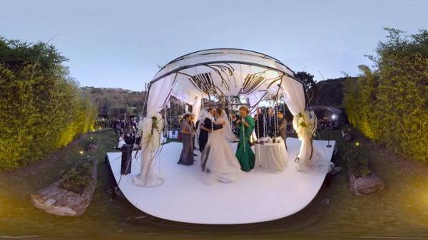 用VR见证无限极婚礼摄影,是一种什么体验?