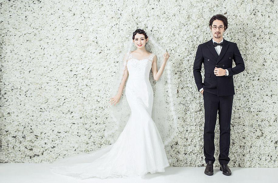 韩式新娘 婚纱照
