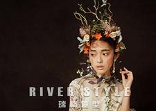 森系新娘造型系列 衬托出少女独特的美