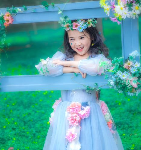 梦幻森林 儿童摄影