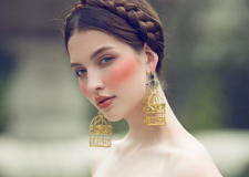 简约时尚的新娘造型 彰显新娘高端典雅的气质