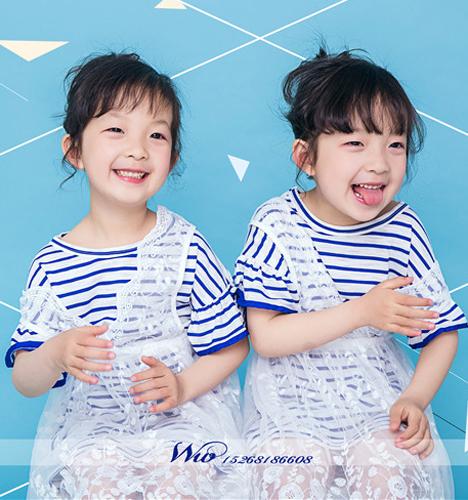 双子星 儿童摄影