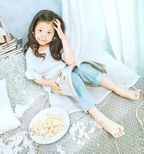 Good morning girl 儿童摄影