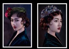 欧式时尚轻复古新娘造型