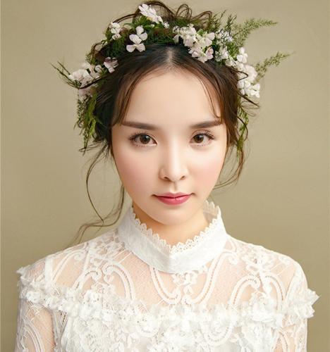 极致轻奢森系新娘造型 化妆造型