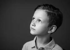 光影雕刻的童年印象 高低影调的儿童肖像摄影教程
