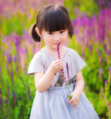 初夏少女 儿童摄影