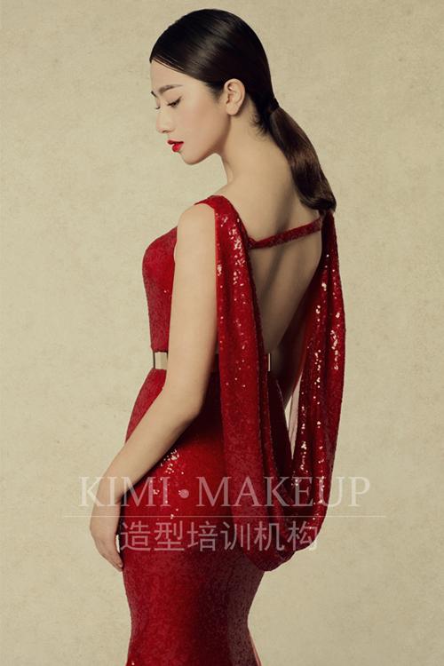 中式画意礼服造型