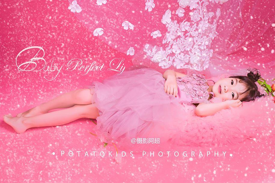 pink girl 儿童摄影