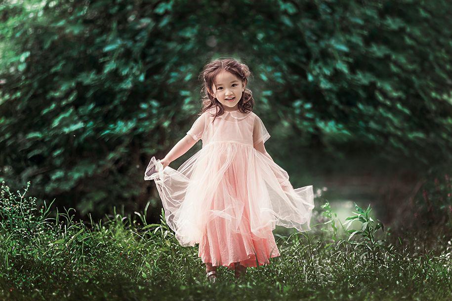 丛林精灵 儿童摄影