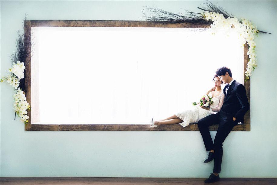 光的记忆 婚纱照