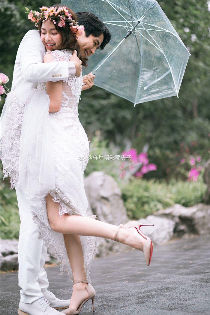 夏有繁花 婚纱照
