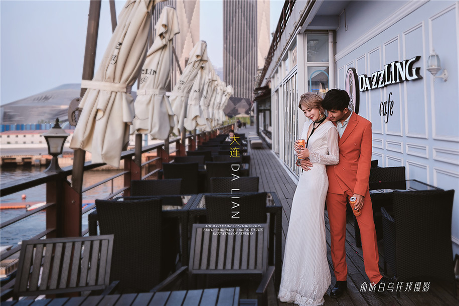 左岸咖啡 婚纱照