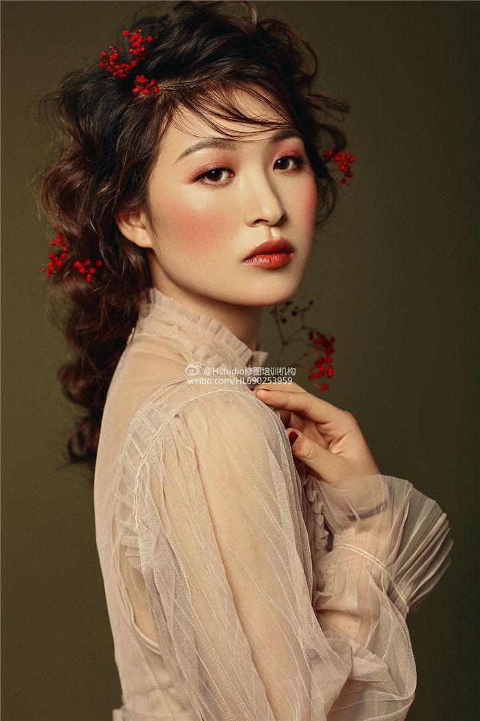 素雅复古新娘妆 化妆造型