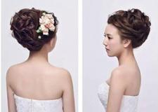 夏季新娘盘发超详教程 气质唯美时尚靓丽