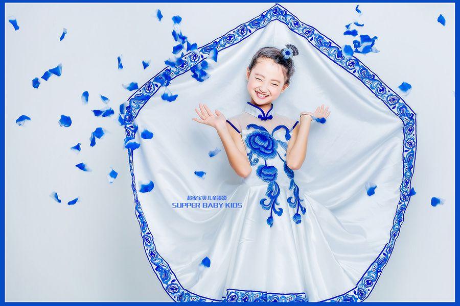 青花蕴之蓝 儿童摄影