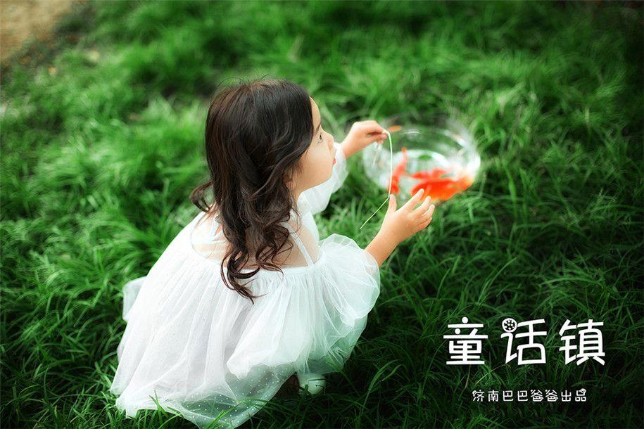 童话镇 儿童摄影