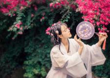 中国古装唯美人像艺术摄影 百花潭