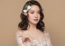 精致少女风妆容 打造灵动甜美的新娘造型