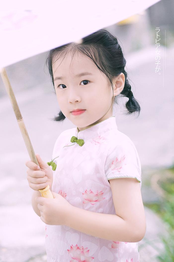 日系亲子 儿童摄影