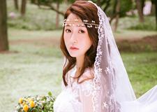 唯美浪漫新娘造型 散发独特的耀眼光芒