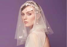 新娘头纱造型 倾心演绎温婉恬静风