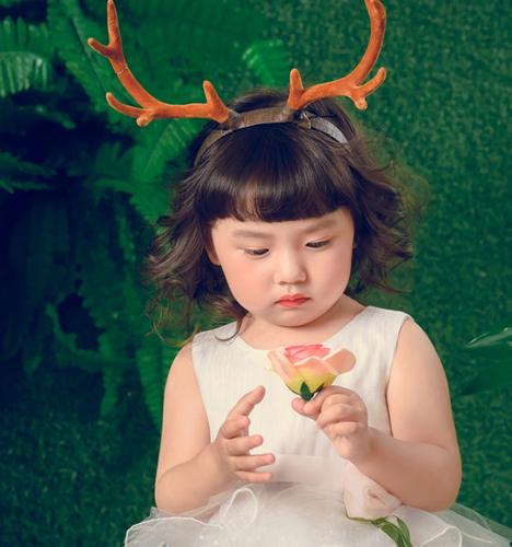 森系小公主 儿童摄影