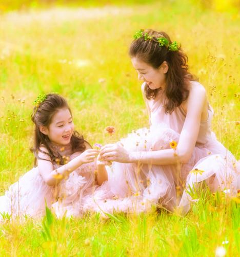 我和妈妈的时光 儿童摄影