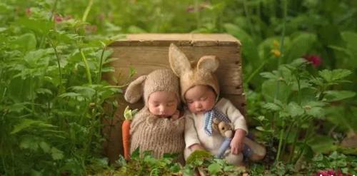 新生儿摄影作品 童话故事般的世界