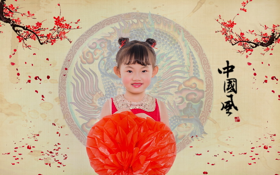 春节喜娃简笔画