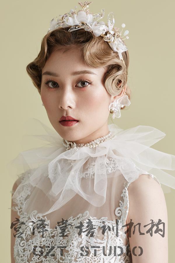 欧式复古新娘造型 尽显优雅名媛气质_妆面赏析_影楼