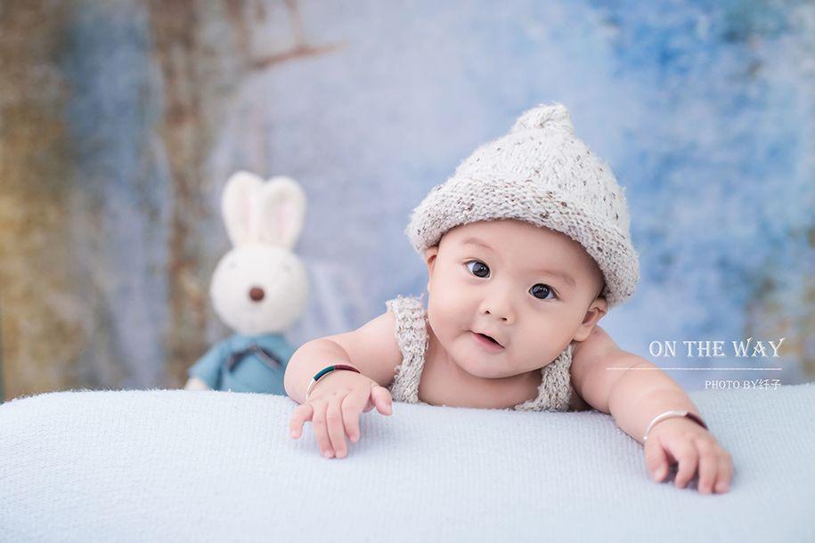 百天小萌娃 儿童摄影
