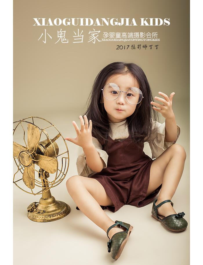 复古女孩(全)_儿童摄影_黑光图库_黑光网