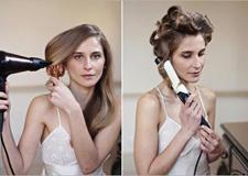 浪漫卷发新娘发型教程 尽显唯美魅力感