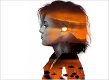 最新影樓資訊新聞-視覺藝術 來自法國藝術家 Nevess的雙重曝光影像