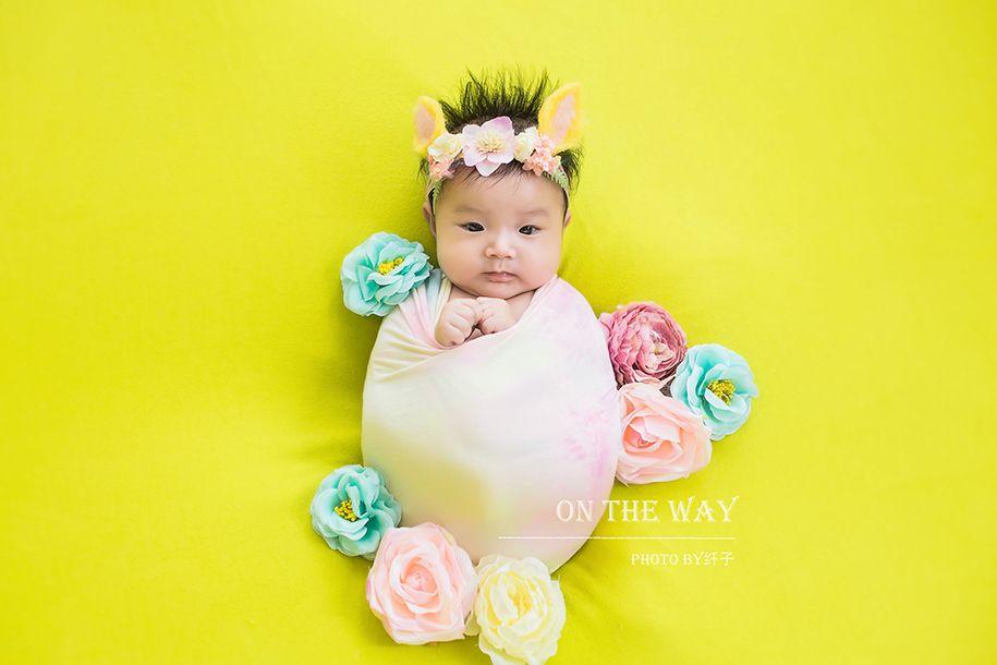 新生儿-花姑娘 儿童摄影