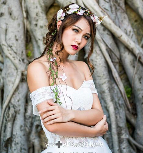 薇雅精灵的嫁衣 化妆造型