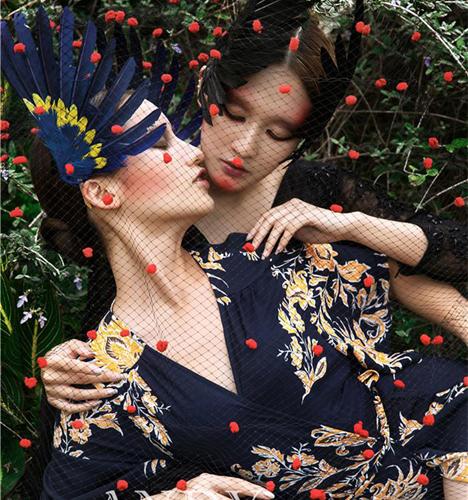 时尚创意妆容 化妆造型
