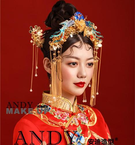 中式新娘造型2 化妆造型