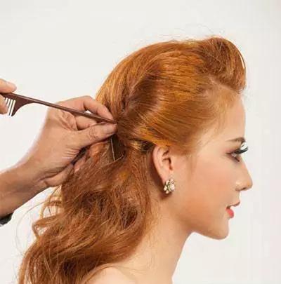 高贵显气质的新娘发型教程 刚好符合你的美
