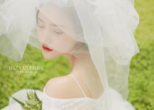 抓纱新娘造型 仙气十足