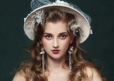 花与爱丽丝 梦幻新娘造型欣赏