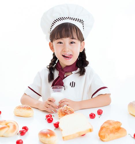 小小面包师 儿童摄影