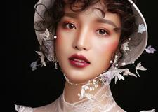 时尚复古新娘造型 散发浪漫古典风味的优雅