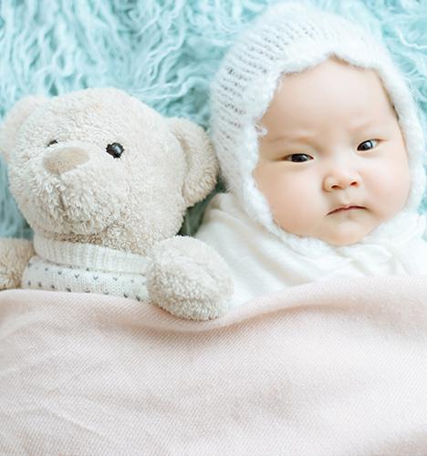 满月宝贝 儿童摄影