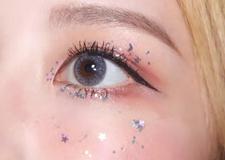 超详细梦幻仙女妆教程 粉粉的眼妆超级美