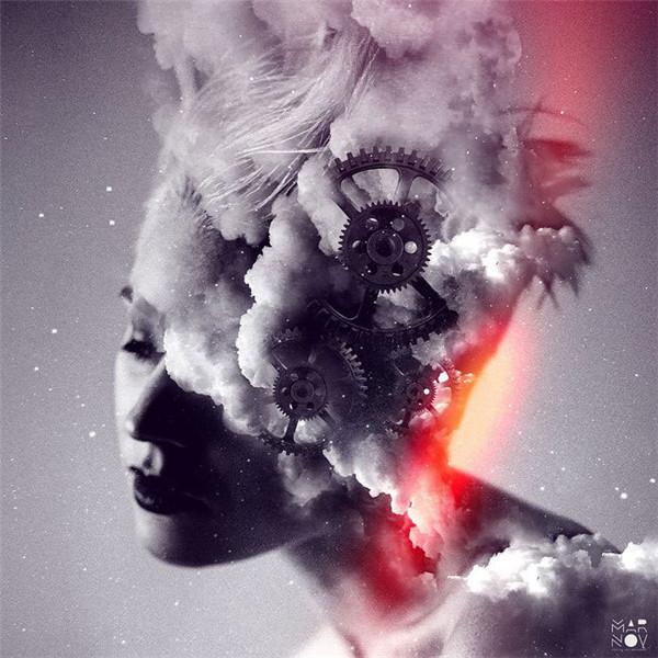6张梦幻烟雾效果人像海报作品_设计欣赏_影楼数码